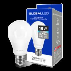 LED лампа GLOBAL A60 10W яркий свет 220V E27 AL (1-GBL-164)