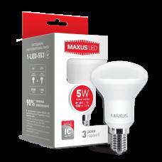 LED лампа R50 5W мягкий свет 220V E14 (1-LED-553)