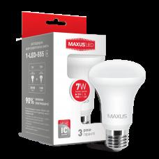 LED лампа R63 7W мягкий свет 220V E27 (1-LED-555)