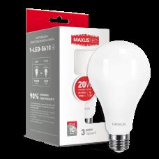 LED лампа MAXUS A80 20W 4100K 220V E27 (1-LED-5610)