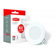 Точечный LED светильник SDL mini, 6W мягкий свет (1-SDL-003-01)