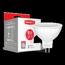 LED лампа MR16 5W 3000K 220V GU5.3 AP