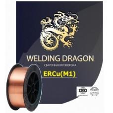 Сварочная проволока Welding Dragon ERCu 1,0 мм (катушка 5 кг)