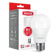 LED лампа MAXUS A60 8W теплый свет E27 (1-LED-559)
