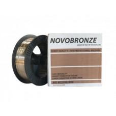 Сварочная проволока Novobronze G3Si1 CuZn 1,0 мм (катушка 18 кг)