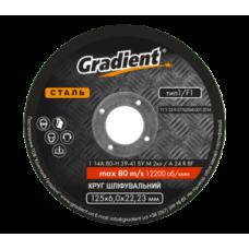 Круг зачистной Gradient  125x6,0x22,23 мм