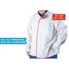 Сварочная куртка из спилковой кожи