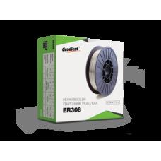 Сварочная проволока Gradient ER308 0,8 мм (катушка 5кг)